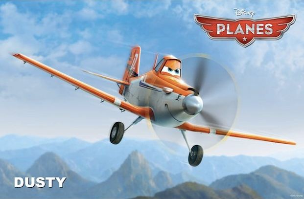 3D-мультфильм «Самолеты»