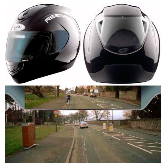 «Intelligent Eye» от Reevu: мотоциклетный шлем, зеркало заднего вида и надеваемый дисплей в одном