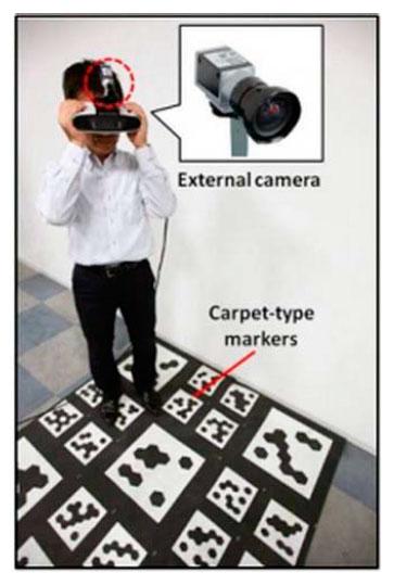 Canon разрабатывает надеваемый дисплей для системы смешанной реальности MREAL