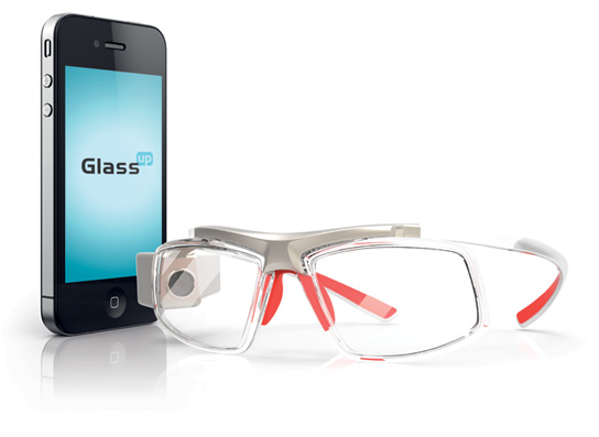 очки-дисплей от Glass Up с пикопроектором