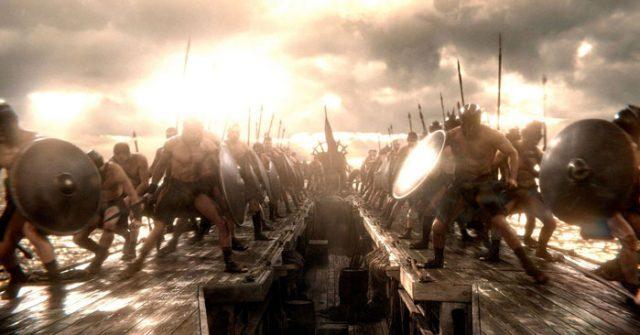Продолжение истории «300 спартанцев»: YouTube 3D-трейлер к трёхмерному экшену