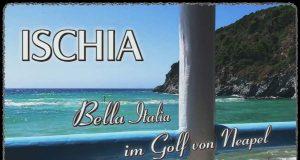 Итальянская Искья: прогулка по острову на YouTube 3D