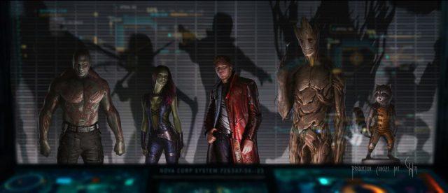 «Стражи Галактики» (Guardians of the Galaxy): телевизионный ролик о съёмках 3D-ленты