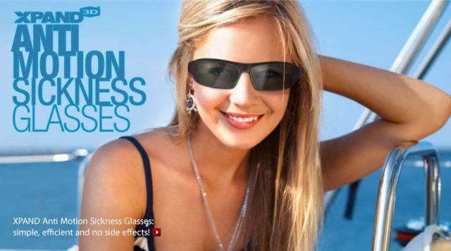 3D-очки XPAND X105-MS-1: новое средство от укачивания