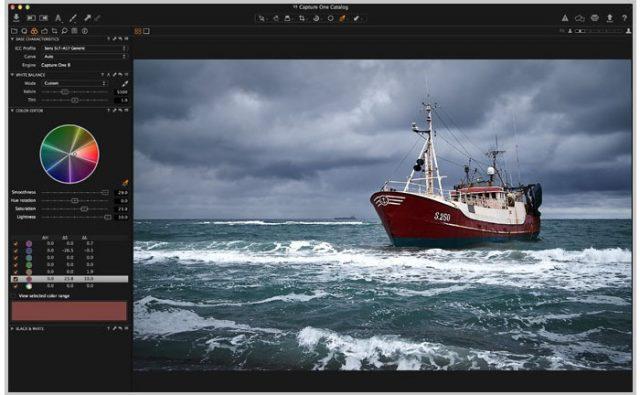Бесплатный RAW-конвертер Capture One Express 8.0 для камер Sony
