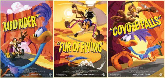 Стереомультфильм «Луни Тюнз»: три серии на YouTube 3D