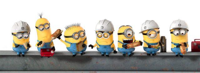 Новогоднее поздравление от Миньонов (Minions) 3D