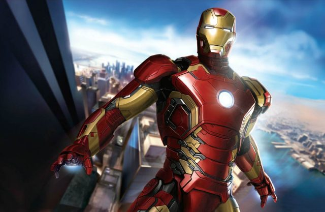 Мстители: Эра Альтрона 3D (Avengers: Age of Ultron): Халк (Hulk) и Железный Человек (Iron Man)