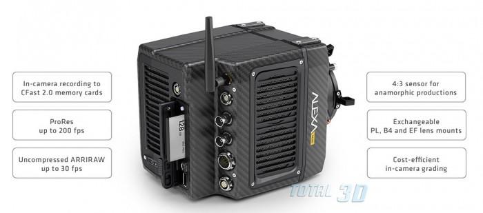 Компактная лёгкая цифровая 4K/UHD камера ARRI ALEXA Mini