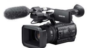 Профессиональный 4K-камкордер Sony PXW-Z150 со встроенным Wi-Fi