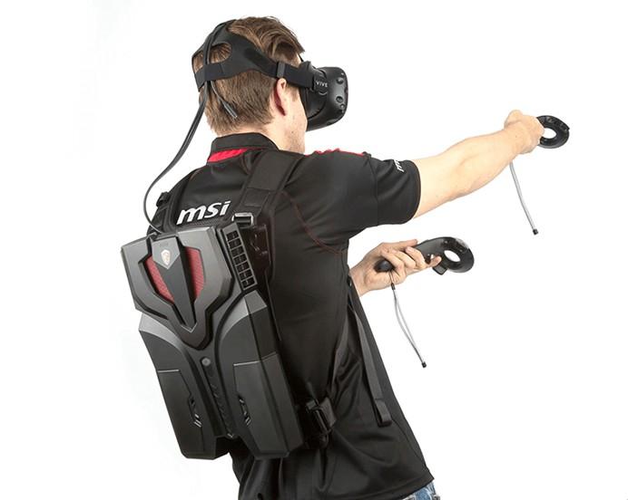VR-рюкзак MSI VR One