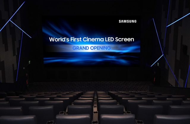 LED-экран Samsung Cinema Screen