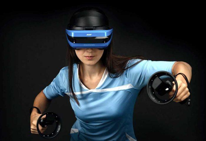 Шлем смешанной реальности Acer WMR AH101