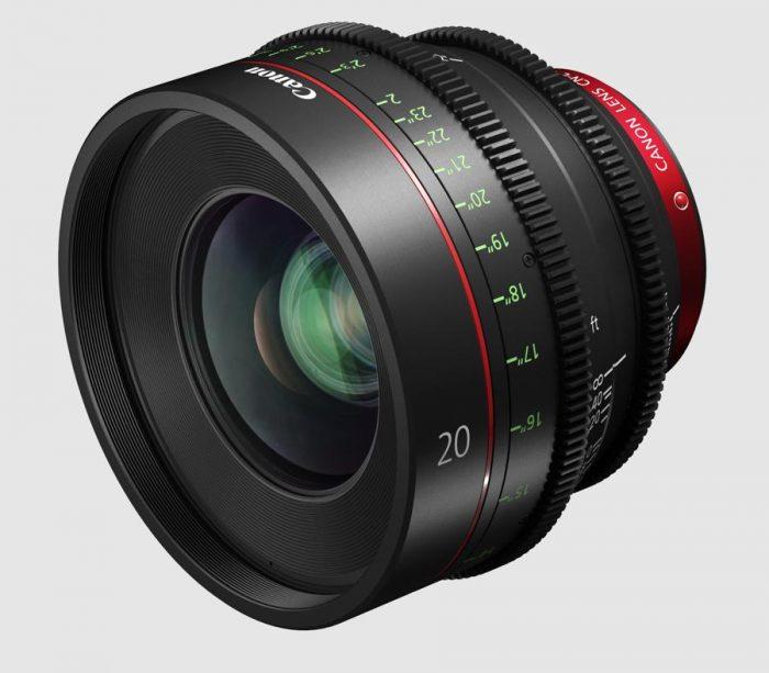 Кинообъектив Canon CN E20mm T1.5 L F