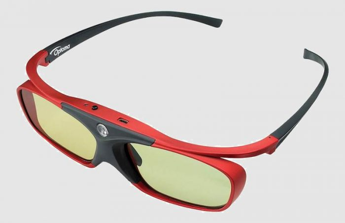 Активно-затворные очки для 4K Full 3D проектора Optoma UHD51