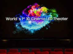 3D Cinema Samsung LED