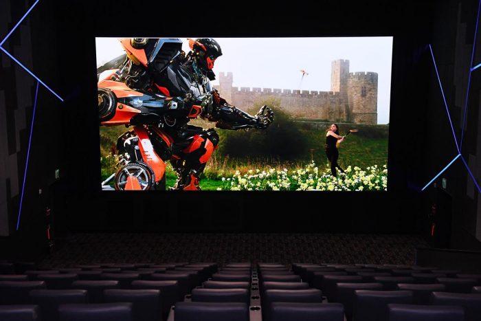 3D Cinema Samsung LED