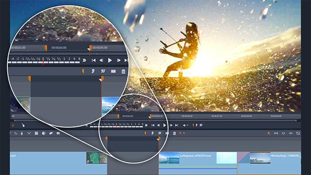 Видео в формате разделенного экрана с ключевыми кадрами