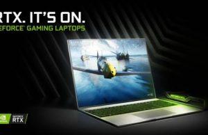 графика NVIDIA GeForce RTX теперь в ноутбуках