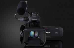 4K UHD камеры Canon XA55, XA50 и XA40