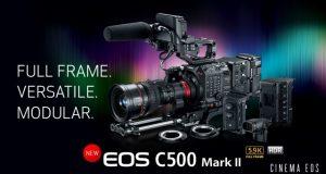 Цифровая 6К кинокамера Canon EOSC500MarkII